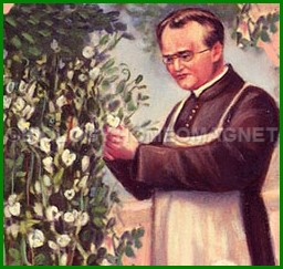 Mendel Collecting the Pea